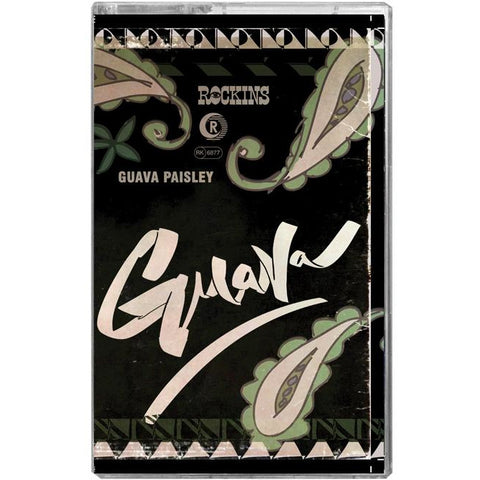 Guava Paisley Super Skinny Scarf Packaging