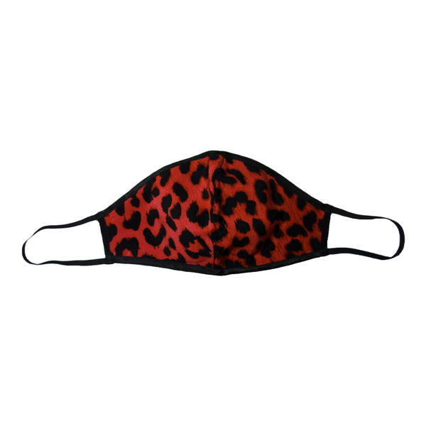 Leopard Face Mask Pink