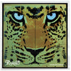 Leopard Teeth  Bandana Gold
