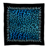 Leopard Teeth Bandana Blue