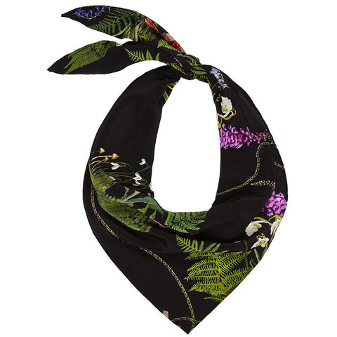 Magic Meadow Neckerchief Black