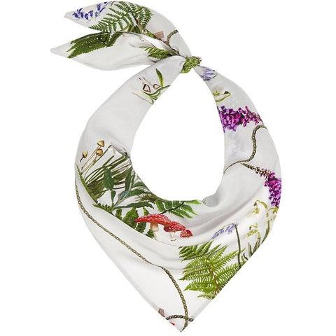 Magic Meadow Neckerchief Ivory