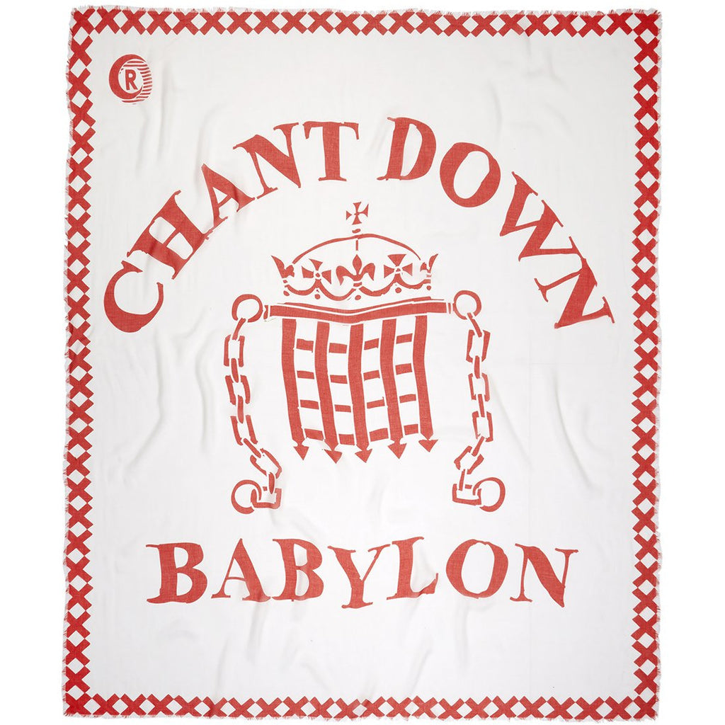 Chant Down Babylon Pashmina Scarf