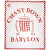 Chant Down Babylon Flag Scarf