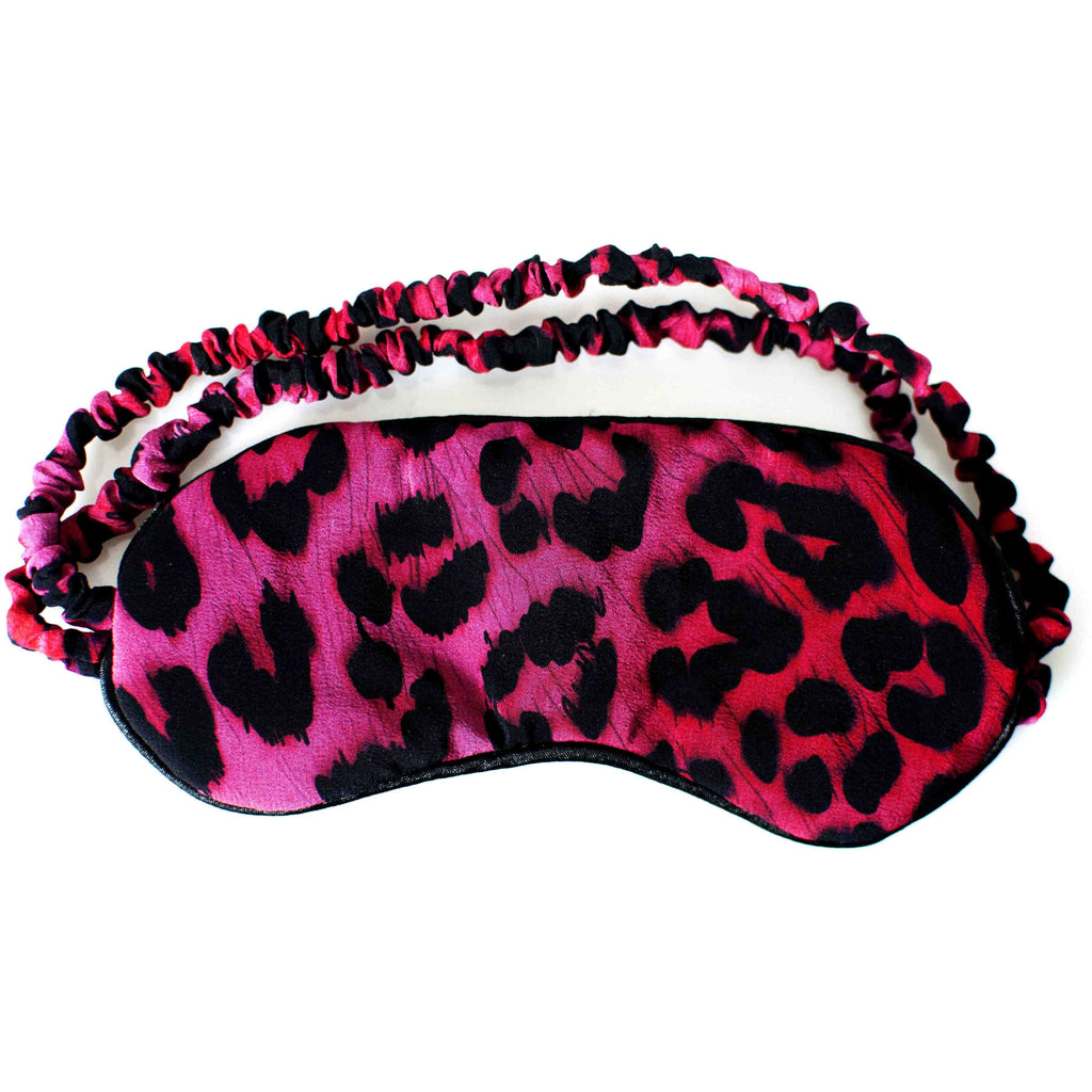 Deluxe Pink Leopard Boxset Eye Mask Product Shot