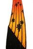 Tall Palm Classic Skinny Fringed Scarf Sunset