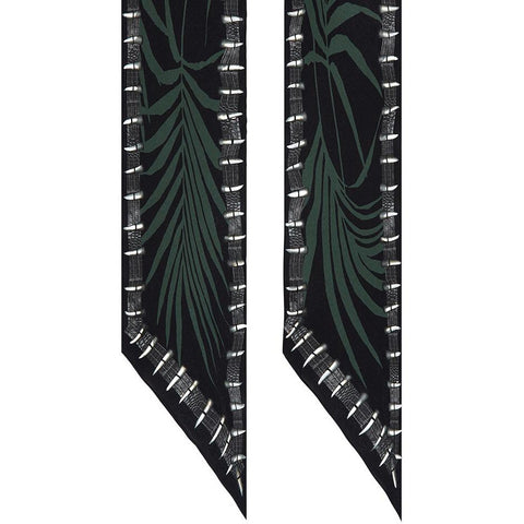 Palms Classic Skinny Scarf Detail Shot