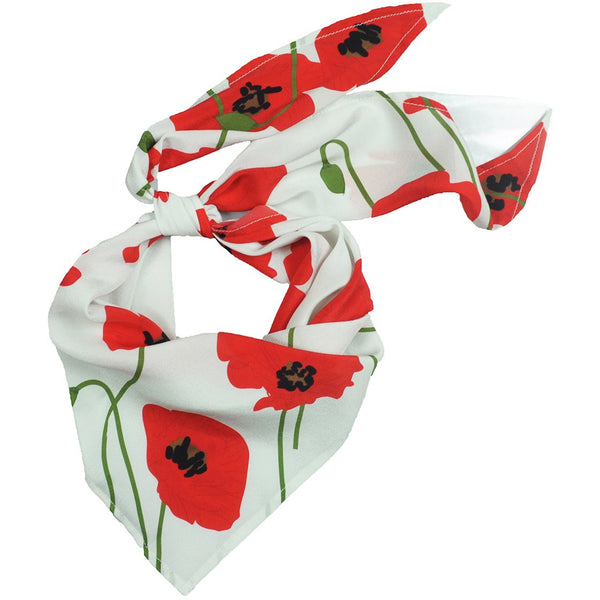 Poppy Neckerchief Ivory
