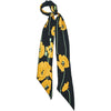 Poppy Super Skinny Scarf Gold