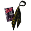 Rock Doctor Super Skinny Scarf Black & Gold