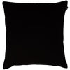 Lips Paisley Cushion Black