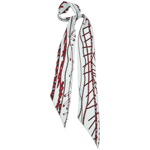 Rock Doctor Super Skinny Scarf Ivory