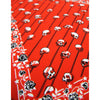 Skull Stripes Neckerchief Red