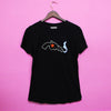 Knotted Gun Solid Black T-Shirt