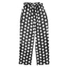 Black and White Star Baggy Trousers