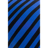 Stripey Cushion Black & Blue