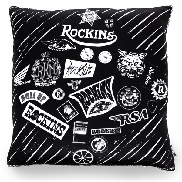 Grebo Chic Cushion Black