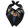 Feathers Bandana Black