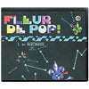 Fleur De Pop Classic Skinny Fringed Scarf Black Packaging