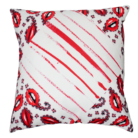 Lipstick Cushion Ivory