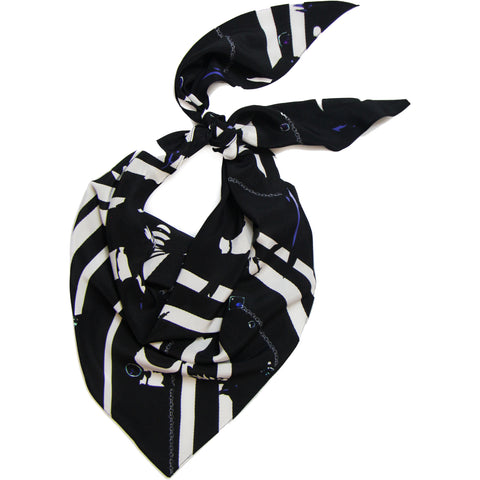 Magpie Neckerchief