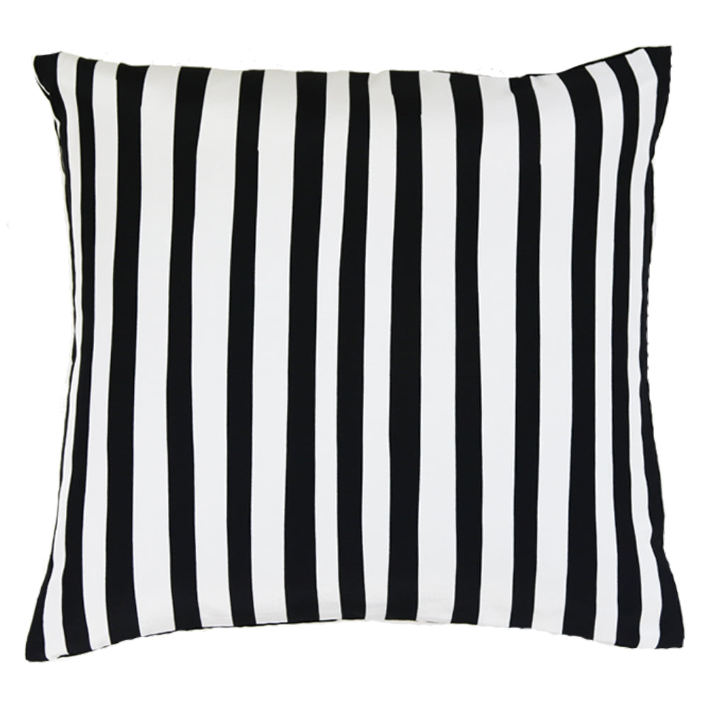 Stripe Cushion Black & White