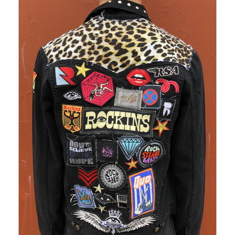 'Heavy Rocker' customised jacket