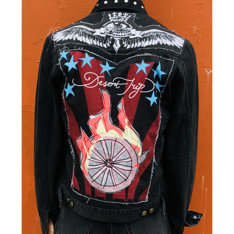 'Desert Trip' customised jacket