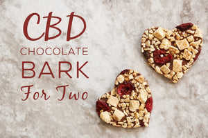 CBD Chocolate Bark for Two