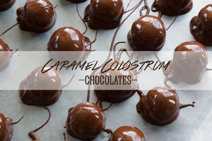 Caramel Colostrum Chocolates