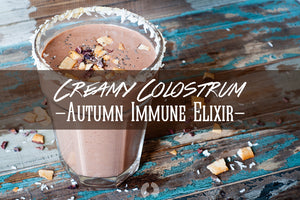 Creamy Colostrum Autumn Immune Elixir