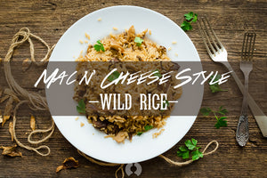 Mac n' Cheese Style Wild Rice — Immune-Supporting Comfort Food