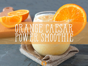 Orange 'Caesar' Power Smoothie Recipe