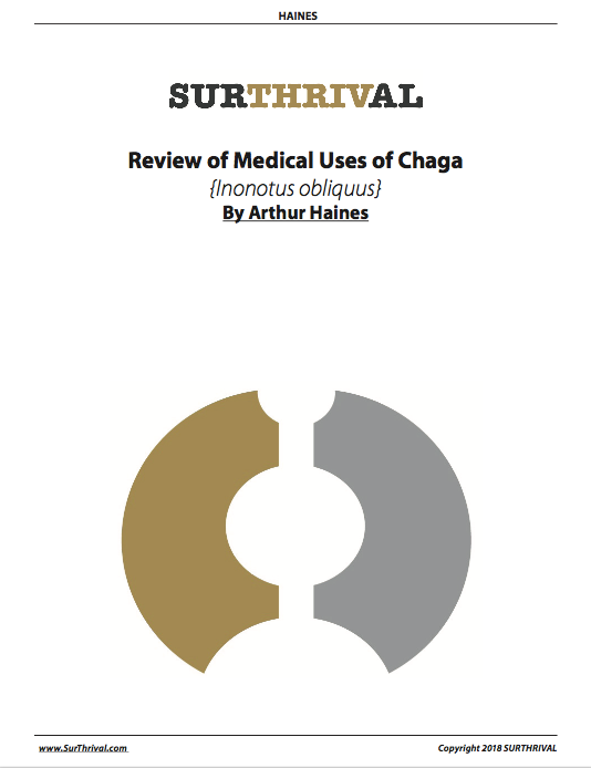 Review of the Medical Uses of Chaga
