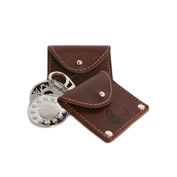 Surthrival Leather Coin Pouch