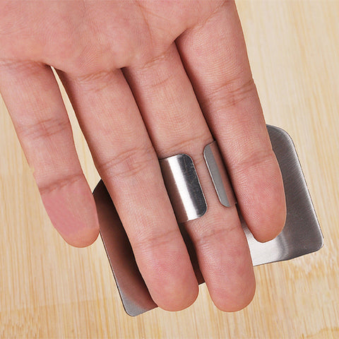 Adjustable Stainless Steel Finger Guard Protector