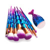 Image of 11-Piece Unicorn Makeup Brush Set