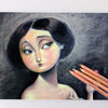 Image of 12 Professional Soft Pastel Pencils for Natural Skin Tones