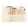 Image of 12-Piece Professional Makeup Brush Set with Bag