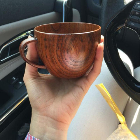 Wooden Mugs Eco-Friendly