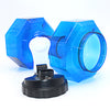 Image of 2.5L Plastic Bottle Shaped Dumbbells