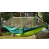 Image of Large Nylon Outdoor Hammock  With Mosquito Nets