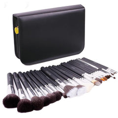 29-Piece Professional Makeup Brush Set with Case