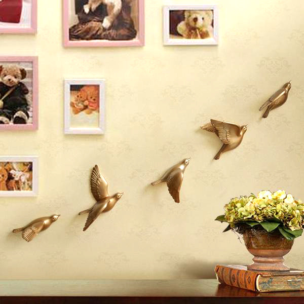 3D Resin Dove Hanging Wall Decor – Kloset M Shop