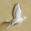 Image of 3D Resin Dove Hanging Wall Decor