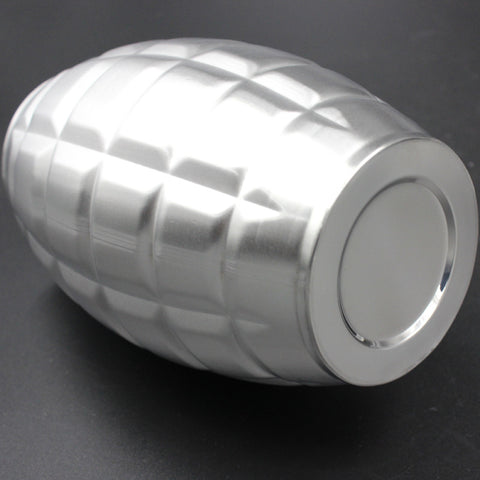 64 oz Stainless Steel Grenade Hip Flasks
