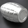 Image of 64 oz Stainless Steel Grenade Hip Flasks