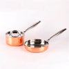 Image of 3-Piece Five-Ply Copper Clad Steel Cookware Set