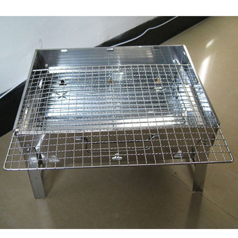 Portable Stainless Steel Barbecue Grill