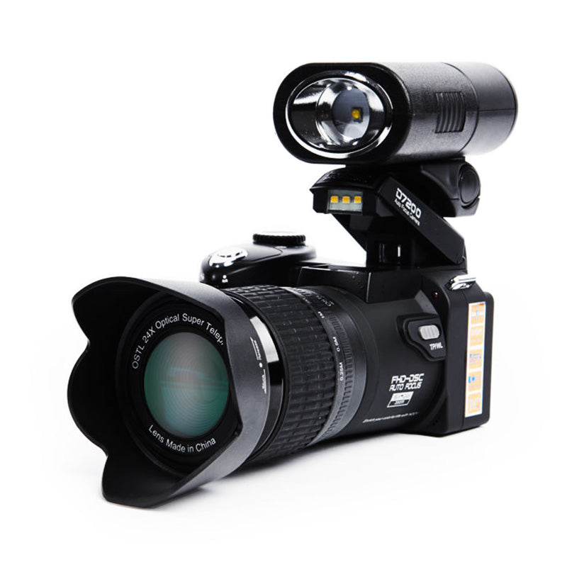 "33MP Digital Camera with 3.0"" LCD Screen 1080P HD Camcorder and 24X Optical Zoom"